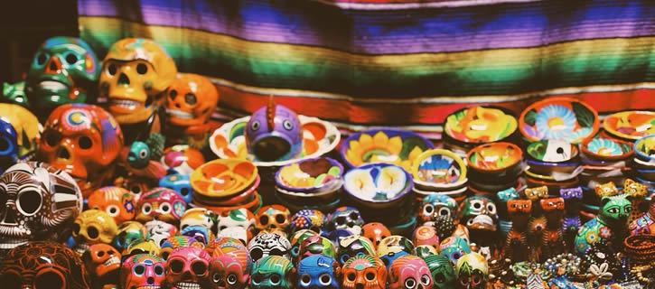 Learn Spanish with skulls and skeletons: Day of the Death